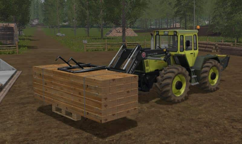 Wooden pallet gripper v1.0