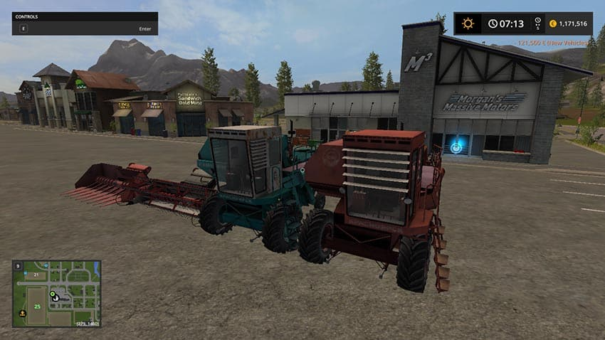Enisei 1200 and 2 headers V 1.0 [MP]