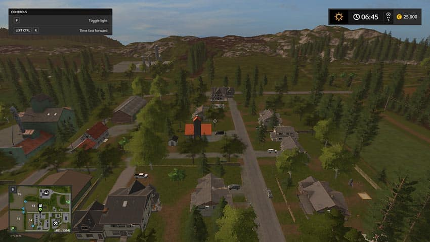 Hof Bergmann with vehicle pack V 1.0 [MP]