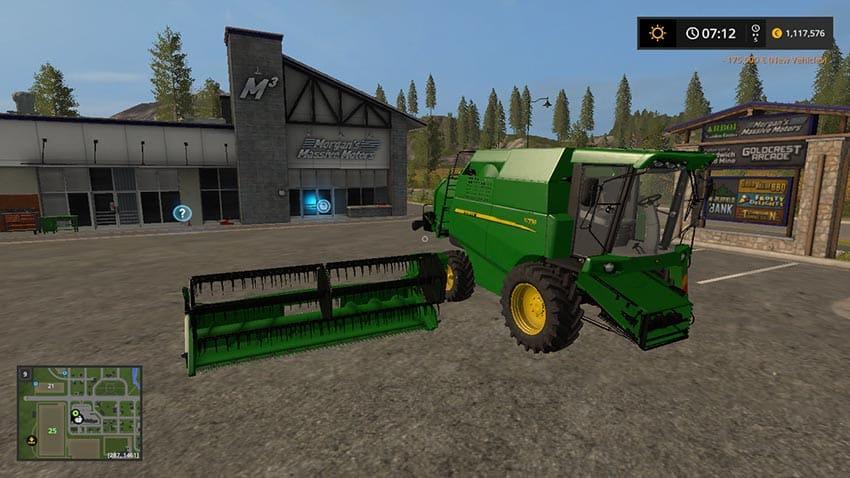 John Deere W330 + John Deere 319R v 1.0
