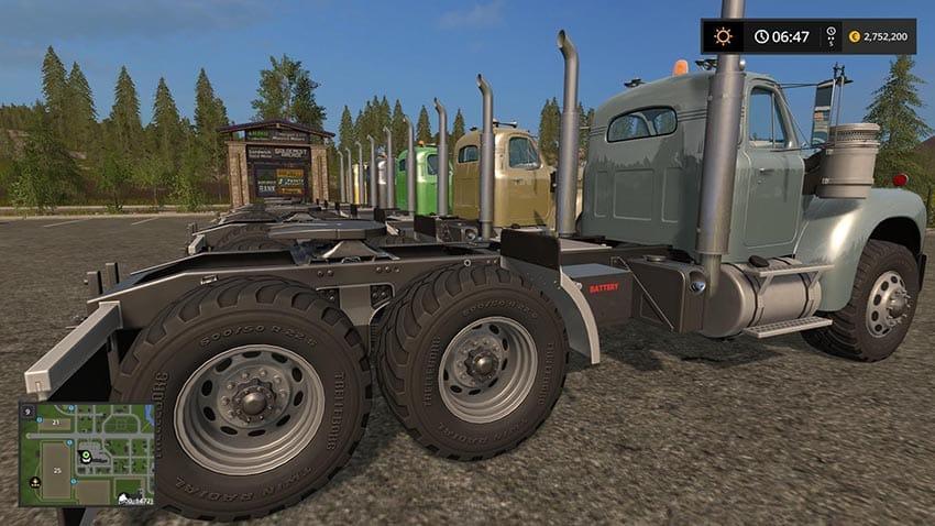 Mack B61 V8 Engine v 1.0