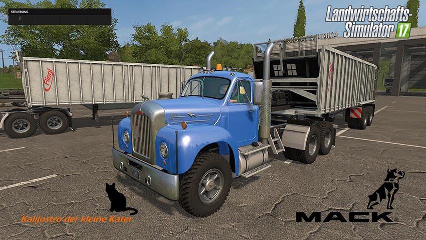 Mack Truck und Trailer Set v 1.1.0.1