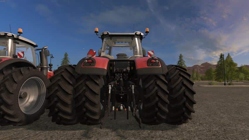 Massey Ferguson 8700 Series V 2.0 [MP]