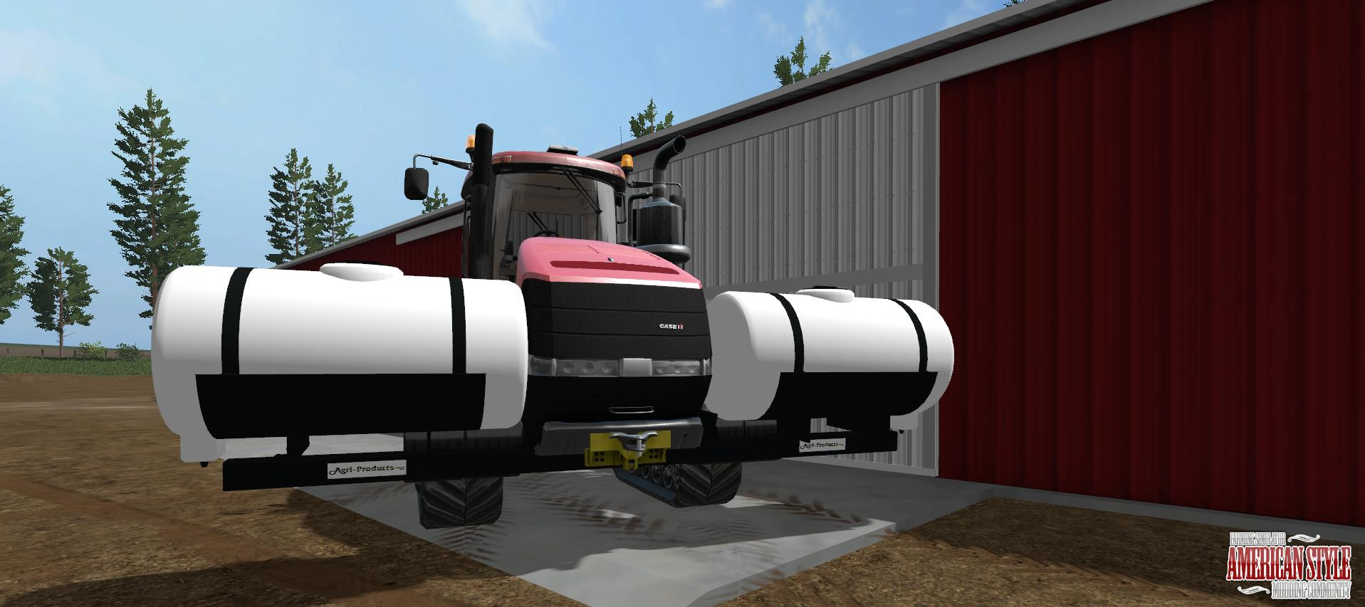 Agri Products Saddle Tanks v1.0
