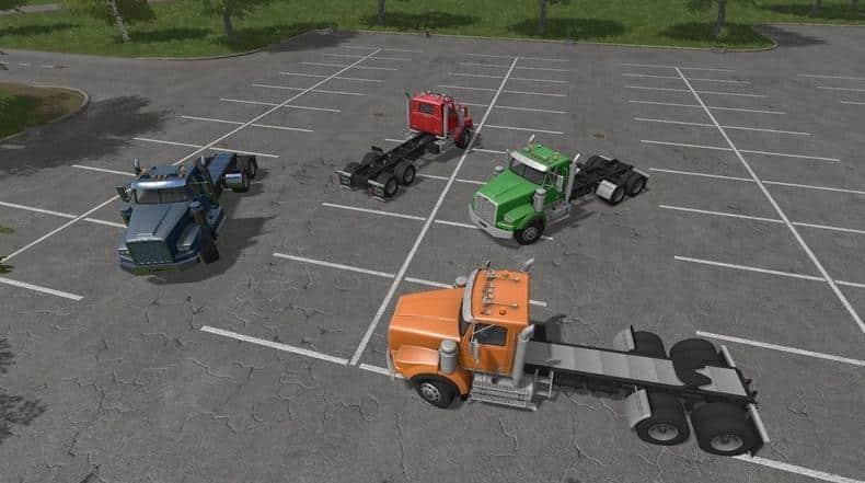 C.R.T. - Twinstar Duo AR/Frame Truck v1.2