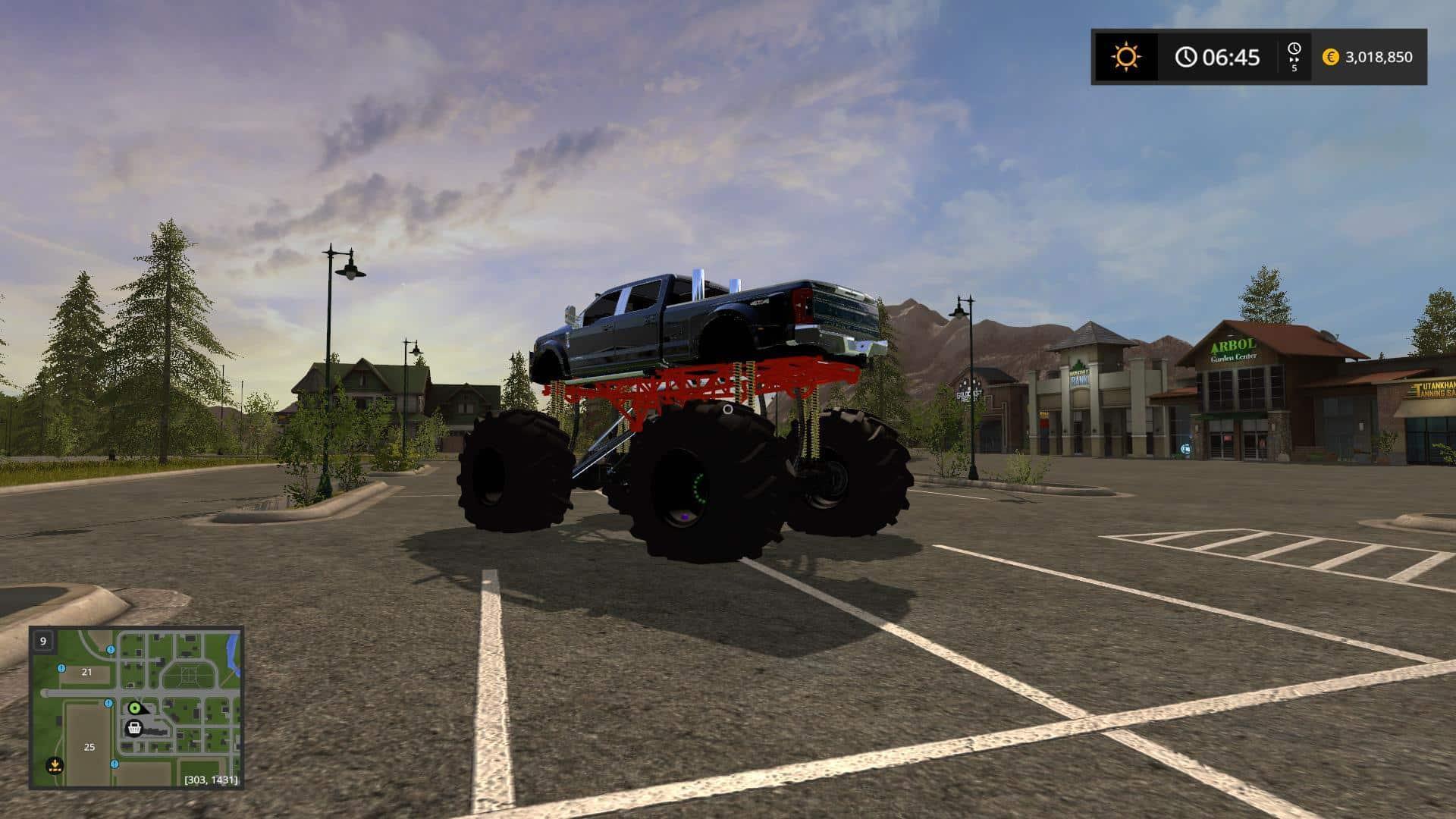 Ford Mud Diesel Truck v1.0
