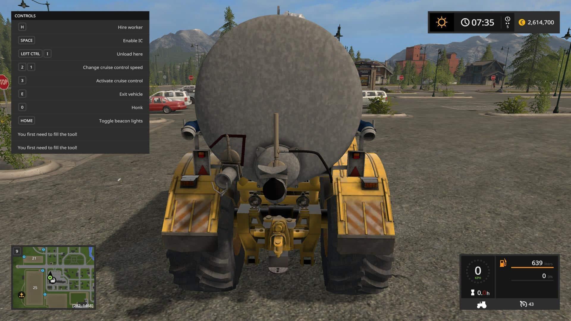 K 701 6x6 TANK v1.0