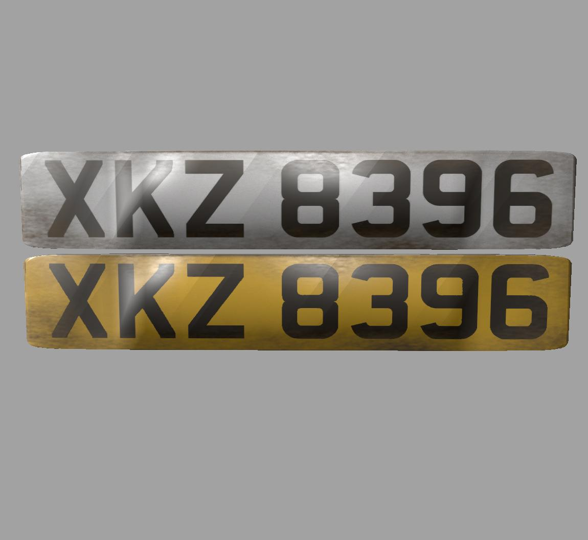 Northern irish plates v2.1
