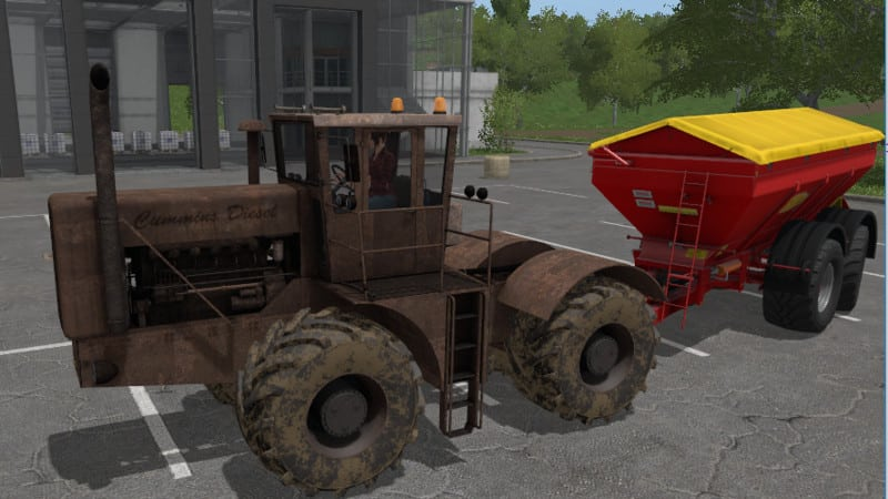 Old tractor diesel V 1.0 [MP]