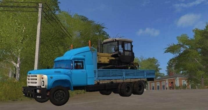 Zil 133 Farming simulator 17 v1.0