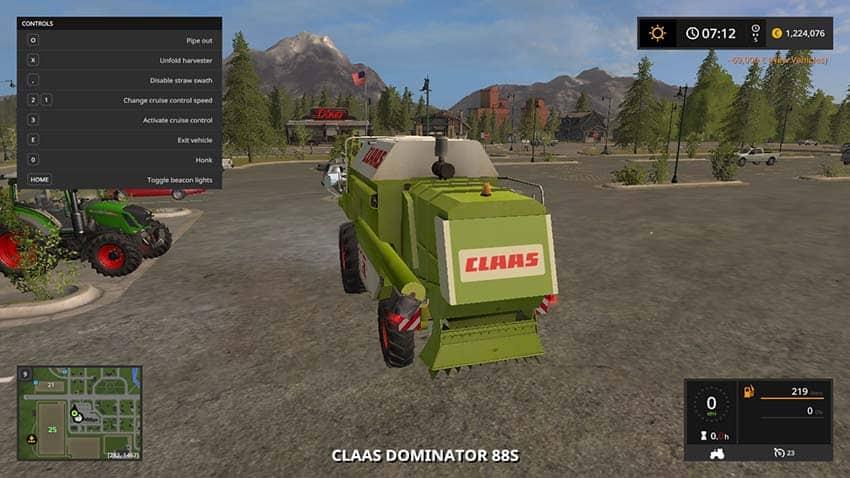 Claas Dominator 88s v 1.0