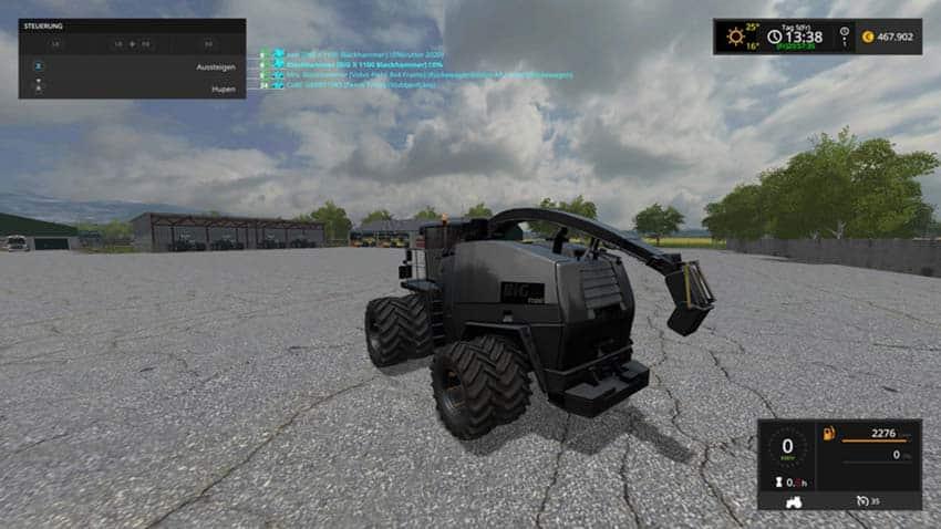 Krone Big X1100 V 2.0 [MP]
