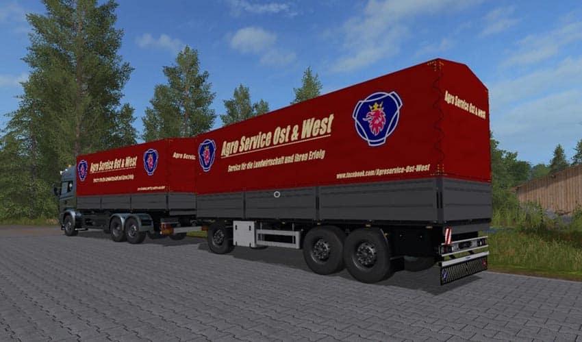 Rotary platform Bale trailer v 1.0 [MP]