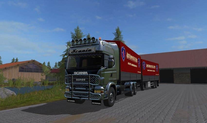 Scania R730 with tarpaulin superstructure UAL V 1.0 [MP]