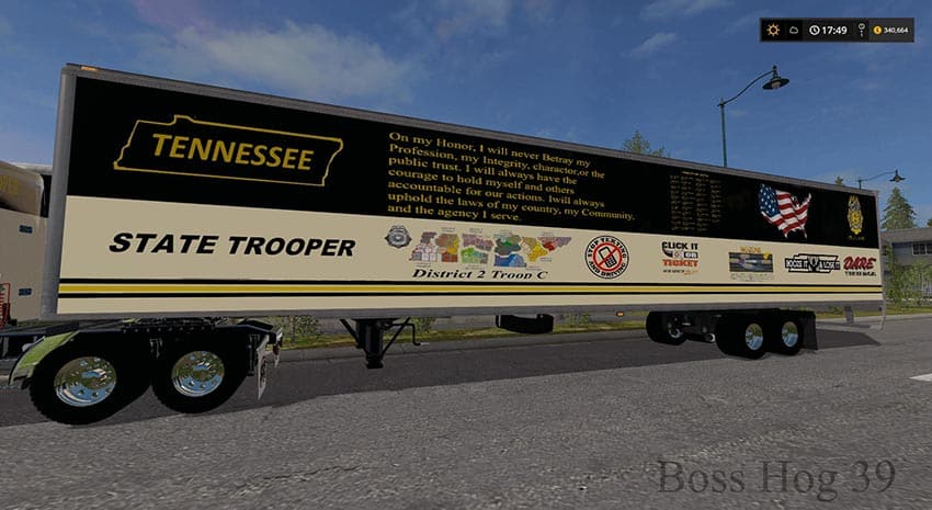 Tennessee State Trooper THP Pack V 2.0