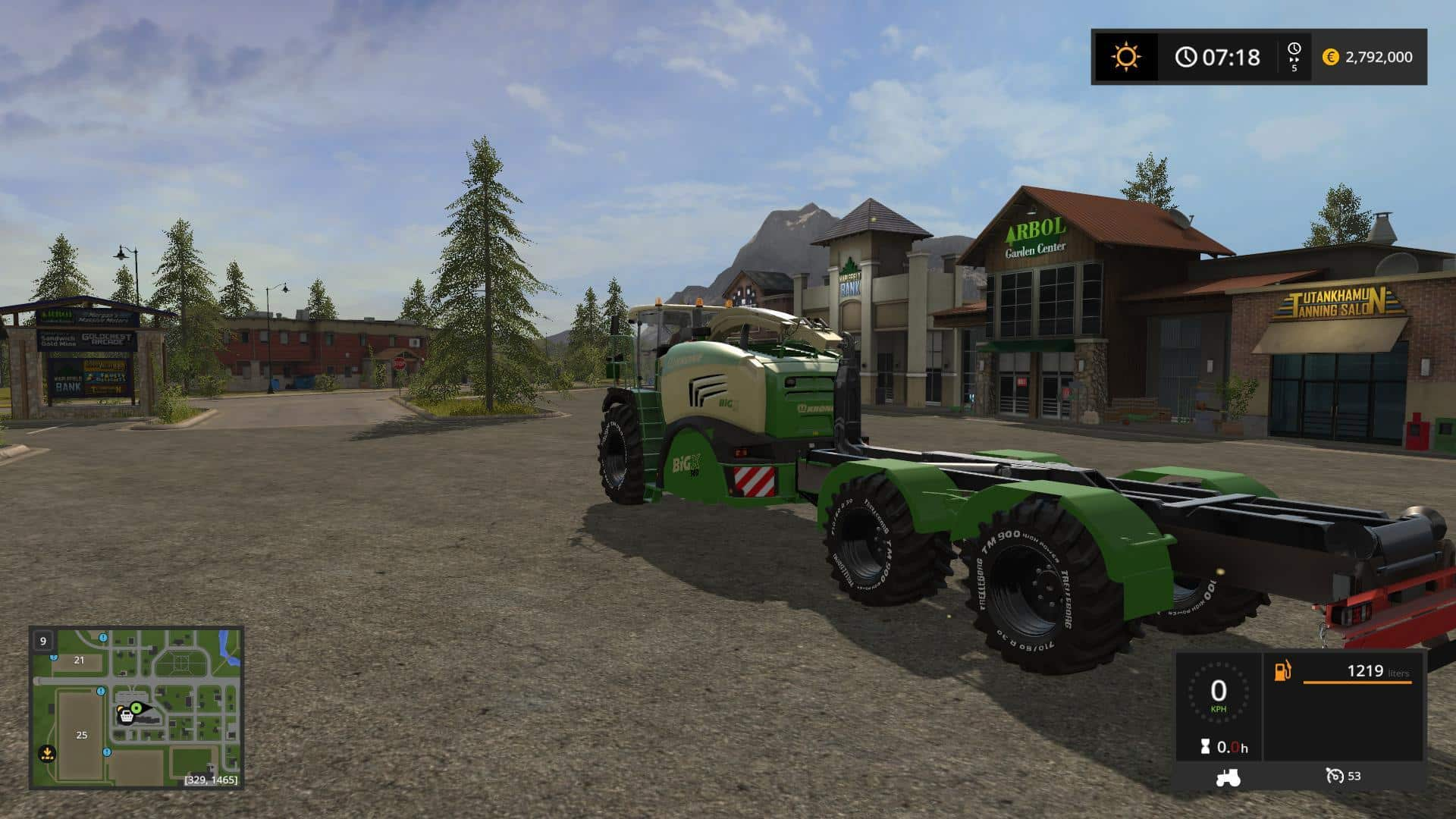 FS17 Krone BigX 580 HKL v2.0