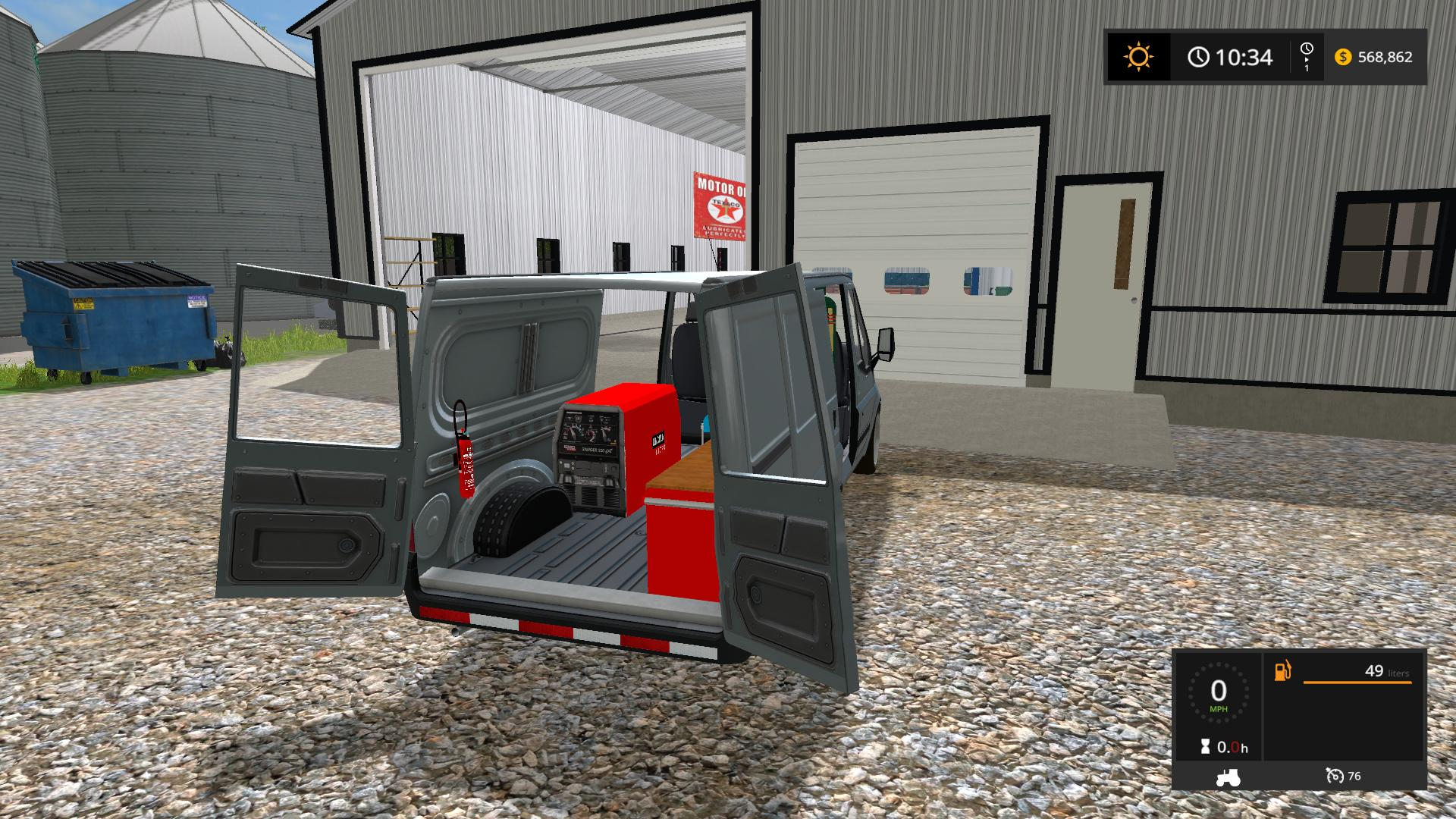 FS17 Work Van V2