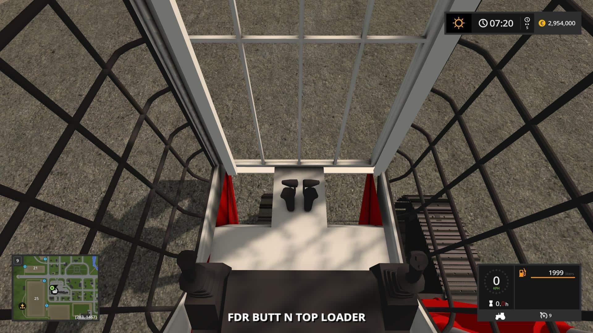 2850 Butt N Top Loader v1.0