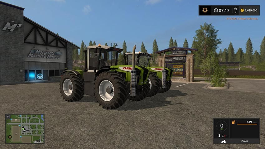CLAAS XERION 3300/380 v 1.0
