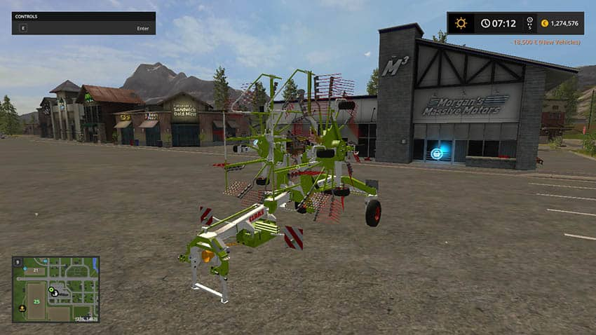 Claas Liner 2700 V 1.0 [MP]