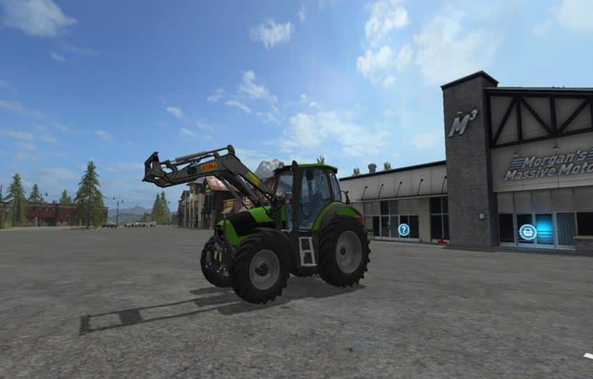 Deutz Fahr Agrotron 165 V 3.2 [MP]