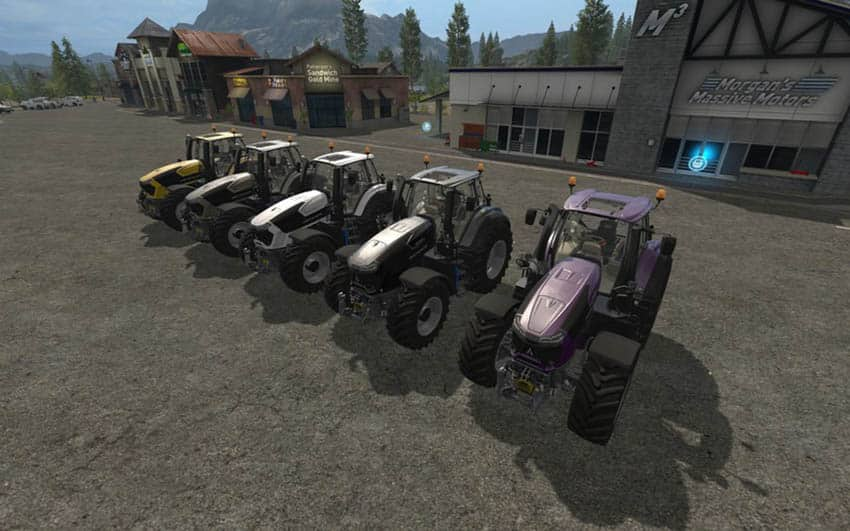 Deutz Serie 9 colorable & Chip Tuning V 1.0 [MP]