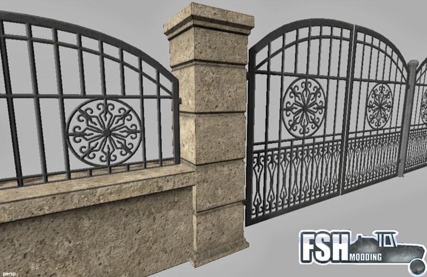 Fence gate v 1.1 [SP]