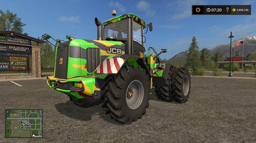 JCB 435S DIGITAL CAMO EDITION v 1.2