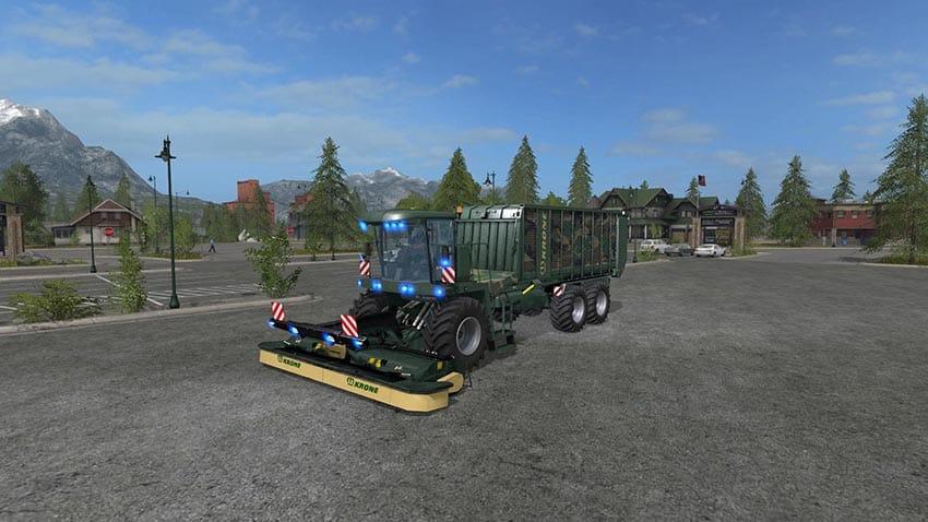 Krone Big L500 Camo v 1.0
