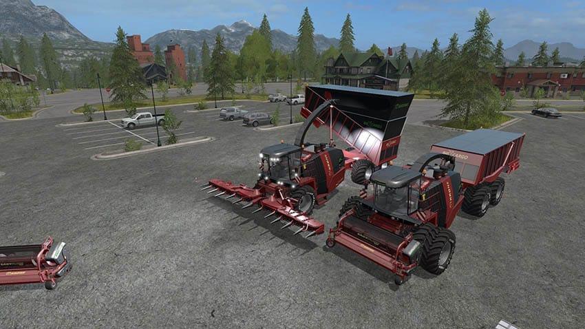 Krone BigX Cargo v 2.0
