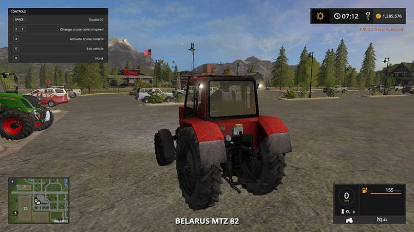 MTZ 82 RED v 1.0