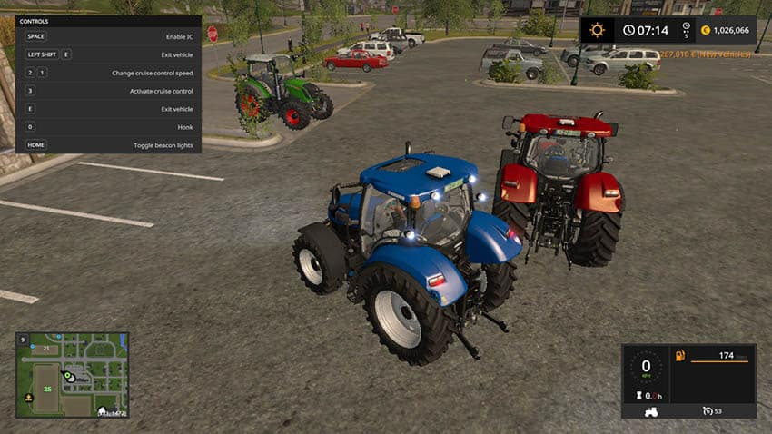NEW HOLLAND T6 TIER 4A V 1.2 [MP]