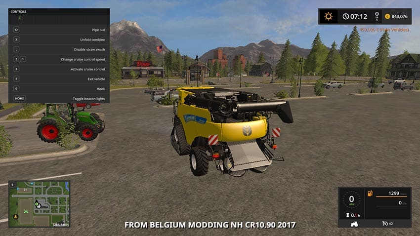 New Holland CR10.90 V 1.0 [MP]