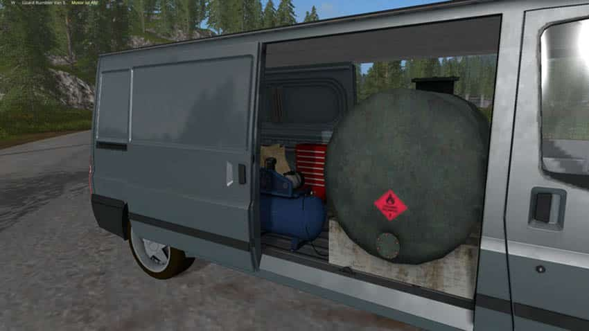 Rumbler Van Service V 1.0 [MP]