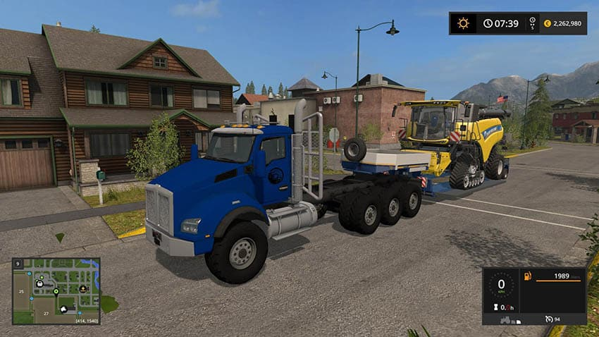 Semi Hauler Truck v 1.0