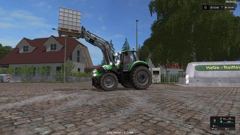 Agrotron 6190 TTV v3.0