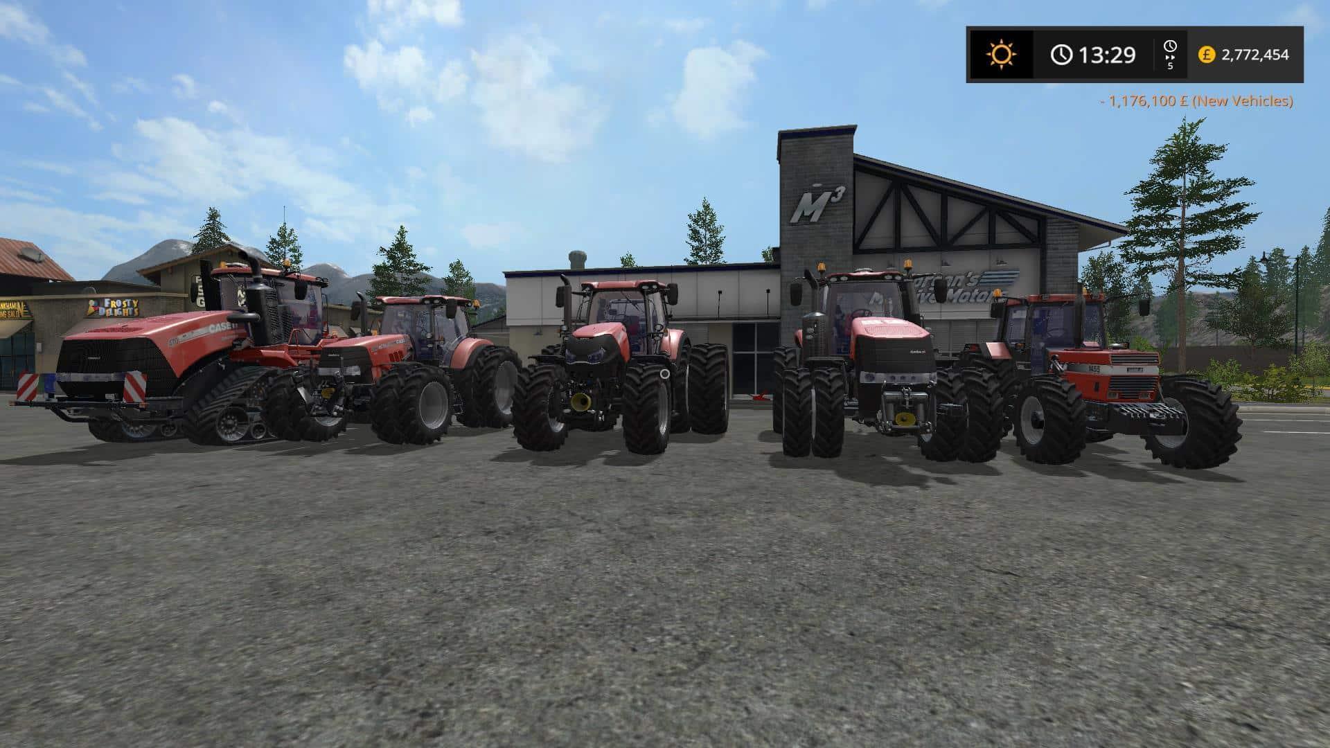 CaseIH Tractor pack update