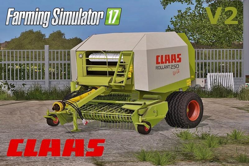 Claas Rollant 250 RotoCut v2.0