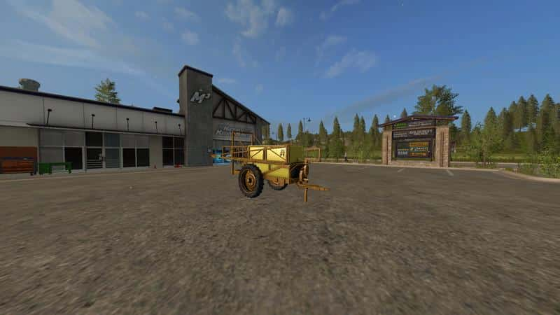 Dubex sprayer v1.0