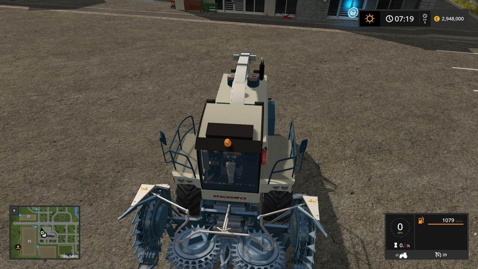 Enisey Agromash KCK 324 v1.0 BETA