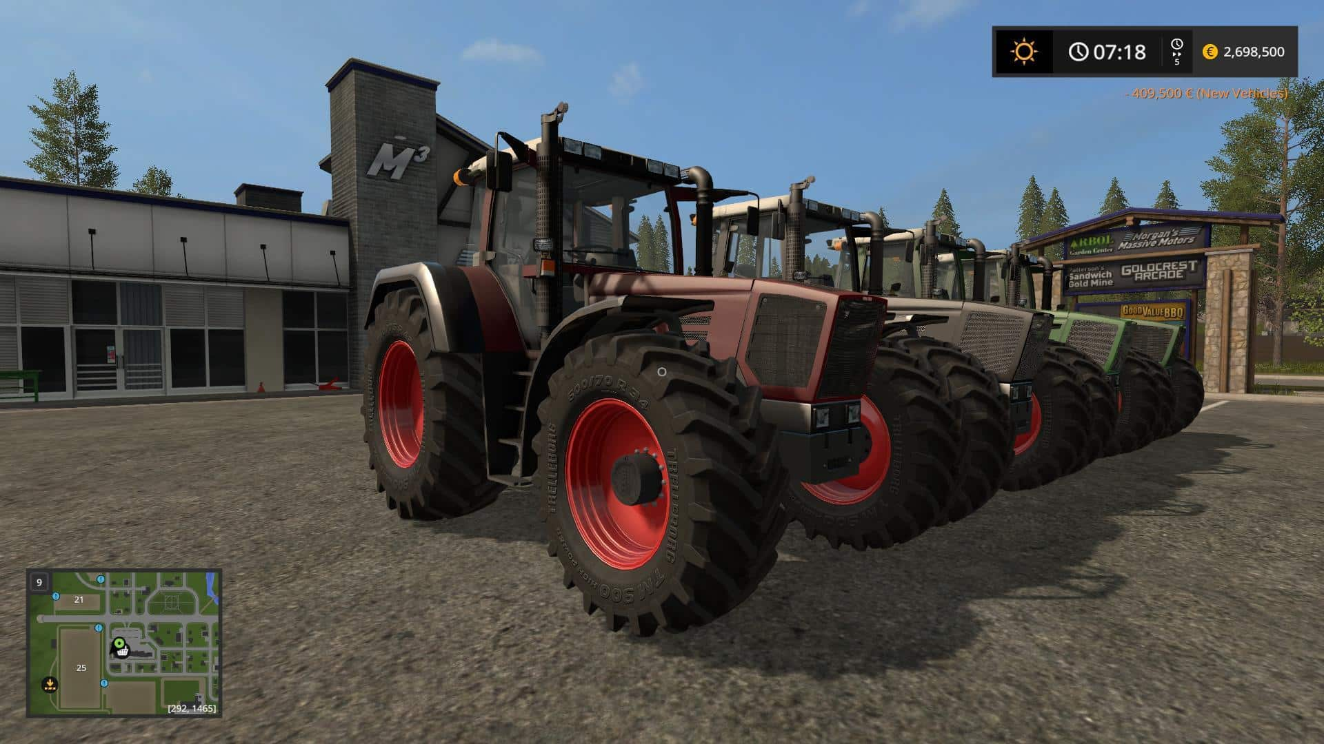 Fendt Favorit 800 v3 Final