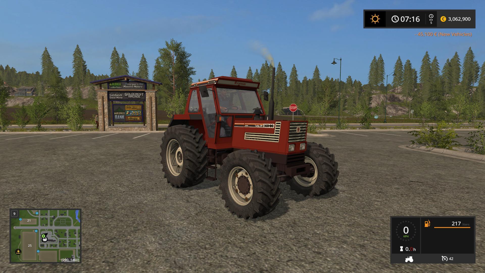 Fiatagri 140 90 DT Turbo v1.1