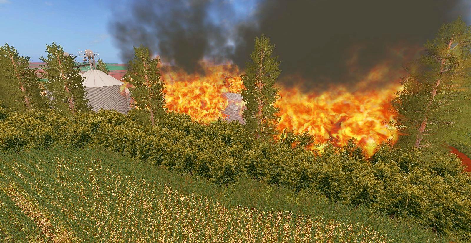Fire Mod Buildable (FS17) v1.0