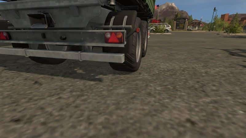 Fliegl TDK160 v3.0 New tires