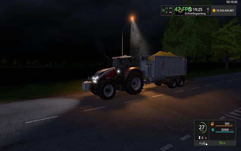 FS17 DDR Lamp placeable v1.0