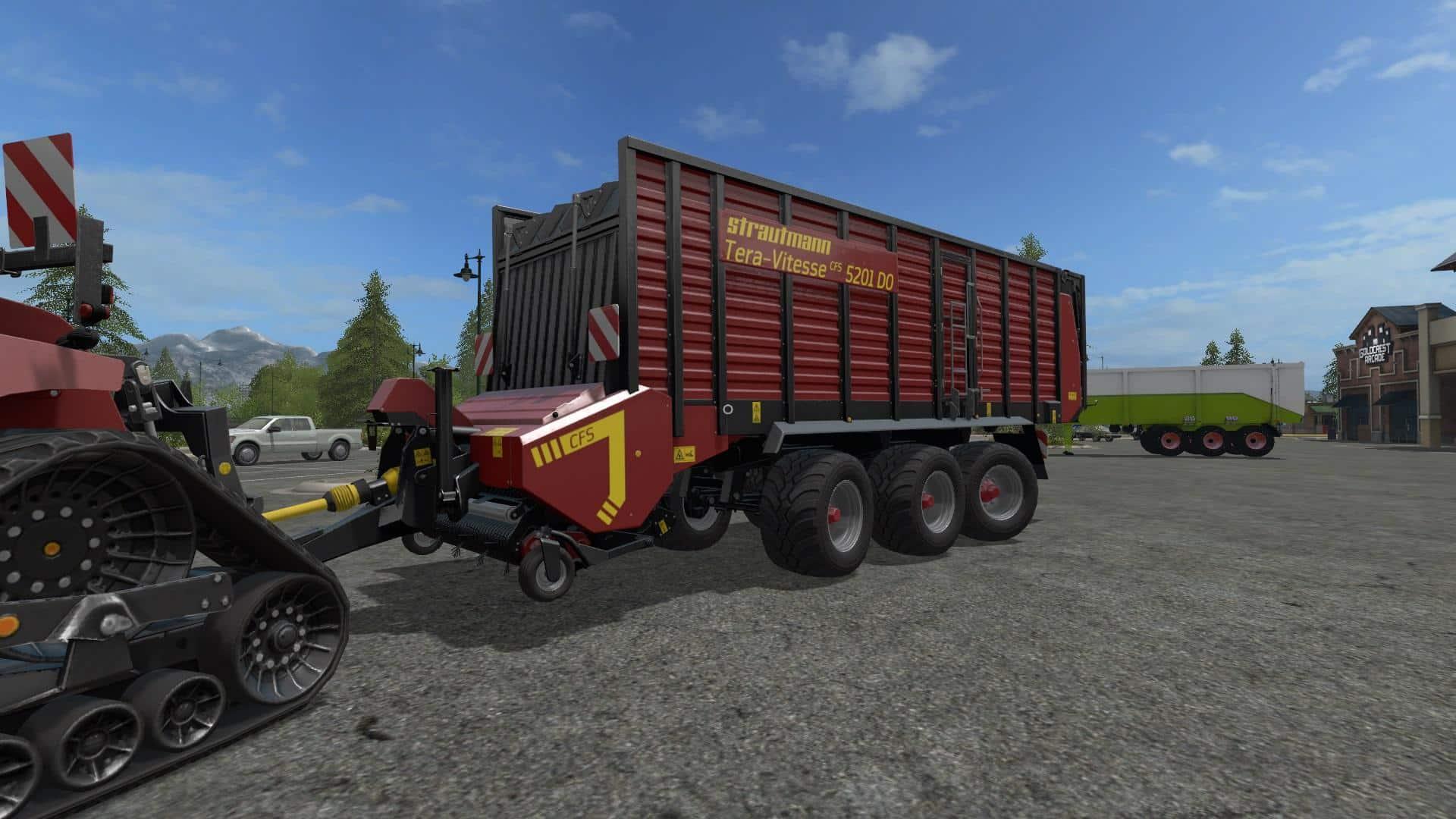 FS17 Strautmann Quadtrac 620 Pack v2.0