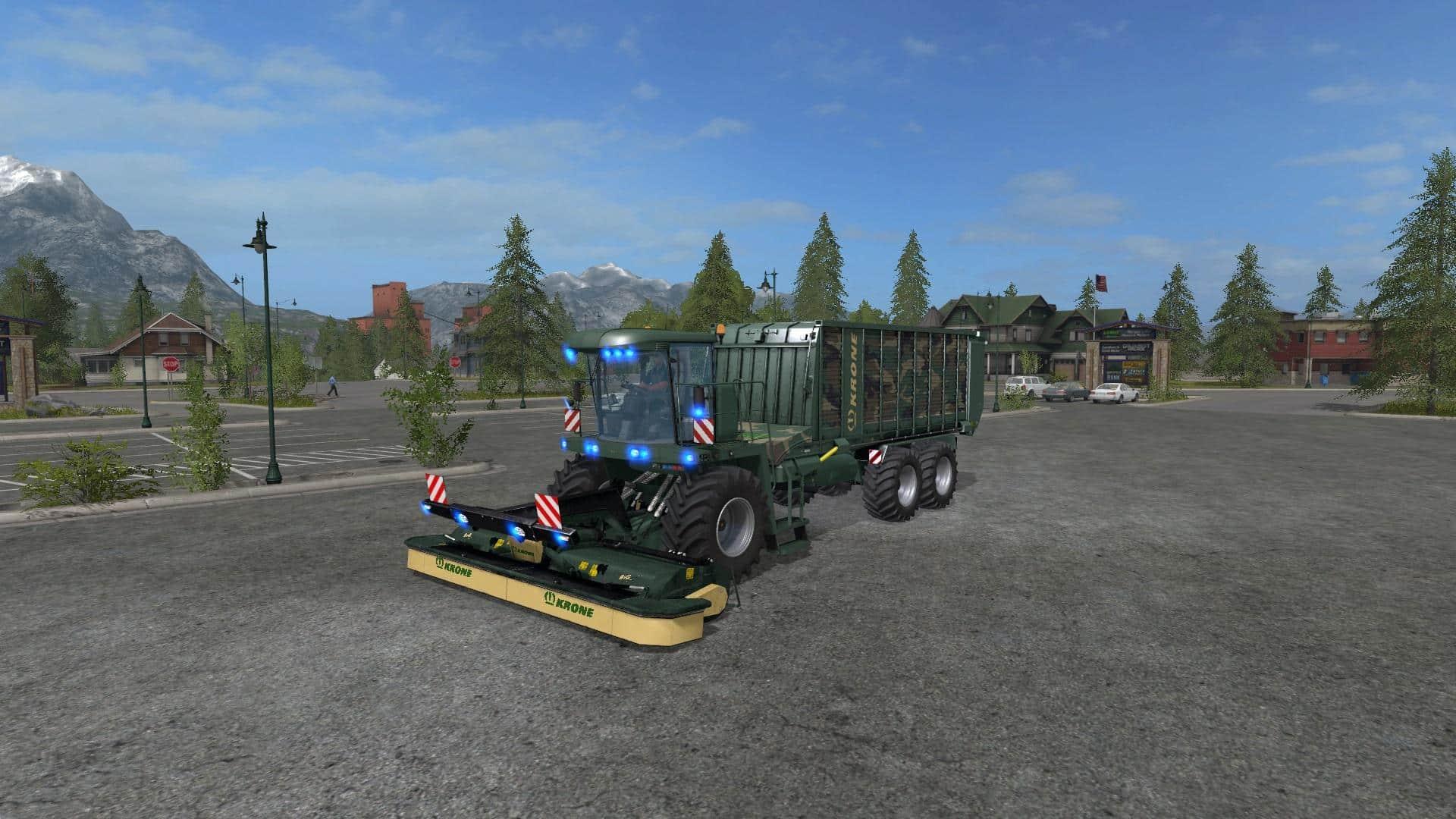 FS17 Krone BigL500 Camo v1.0
