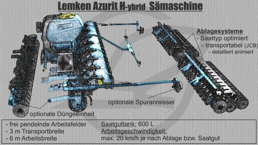 ITS Lemken Azurit Hybrid v2.7.0.0