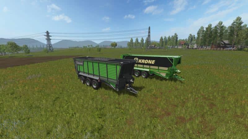 Krone TX 560 D More Realistic v1.0