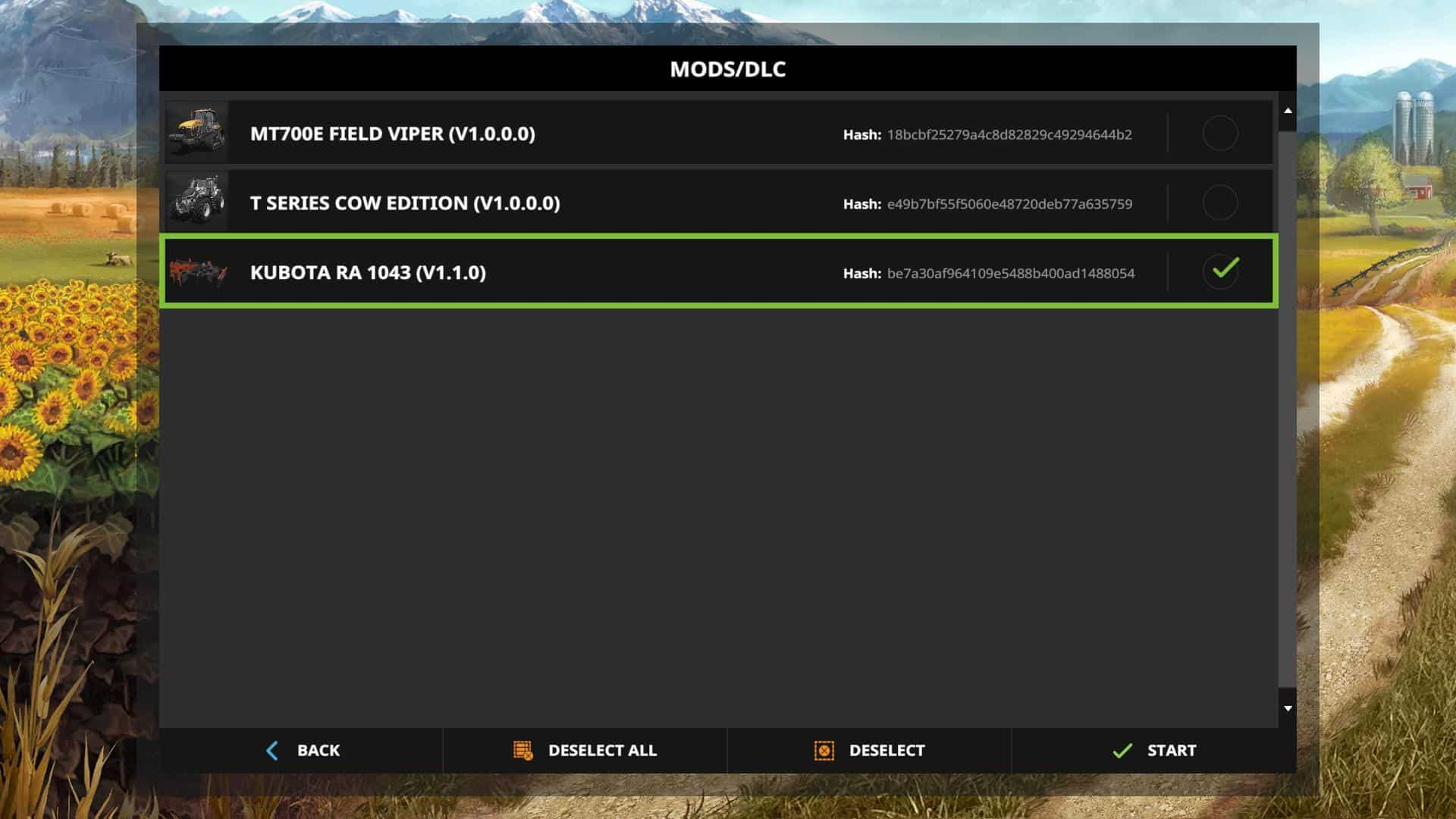 Kubota RA 1043 v1.1.0